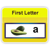 first letter