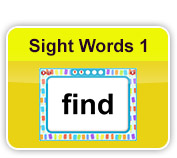 Sight Words 1
